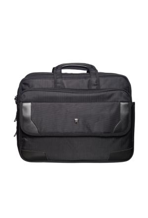 Hard Case Kumaş Evrak Çantası Hc7014 Siyah