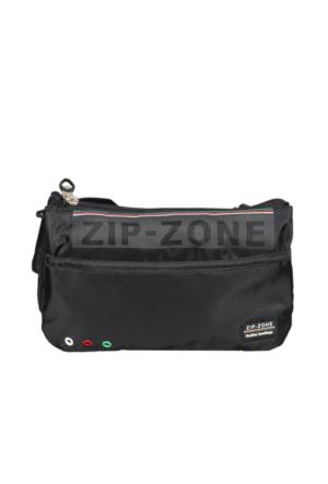 Zip Zone Kumaş Free Bag Z30858 Siyah