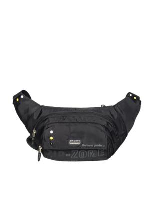 Zip Zone Kumaş Free Bag Z30862 Siyah
