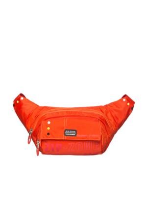Zip Zone Kumaş Free Bag Z30862 Turuncu