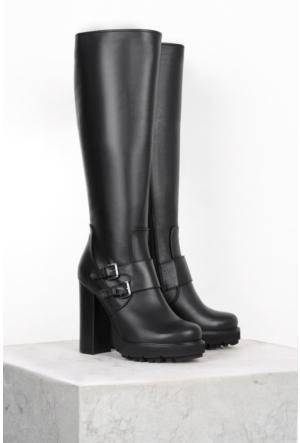İlvi Buckle M-471 Çizme Siyah