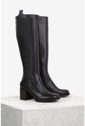 İlvi Mulberry B5290 Çizme Siyah