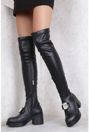 İlvi Norma Gm-188 Çizme Siyah