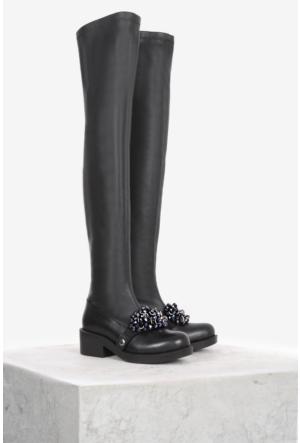 İlvi Tienta 10777 Çizme Siyah