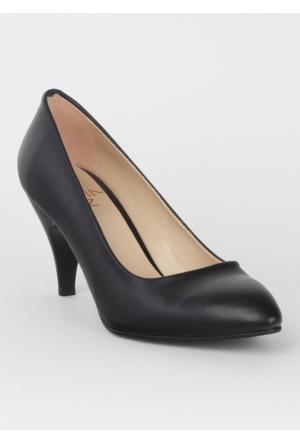 Markazen Topuklu Ayakkabı Mat - Siyah