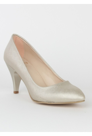 Markazen Stiletto Ayakkabı - Bej