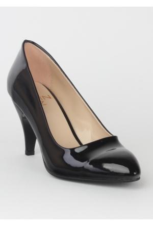 Markazen Stiletto Ayakkabı Ruga - Siyah