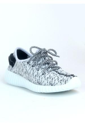 Markazen Rahat Spor Ayakkabı - Beyaz