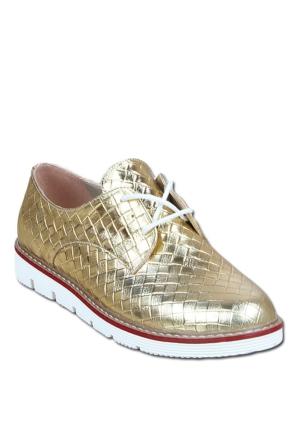 Markazen Bayan Spor Ayakkabı - Altın