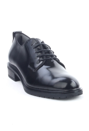 Markazen Oxford Rugan Ayakkabı - Siyah 03