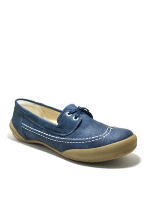 Baldano® Ortopedik Büyük Numara Lacivert Kadın Günlük Ayakkabı 41