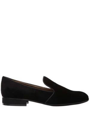 Nine West Nwclowd8 Siyah Kadife Ayakkabı