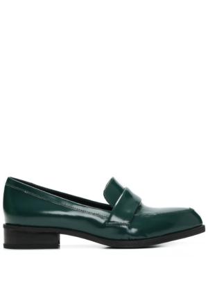 Nine West Nwnextome Yeşil Gerçek Deri Ayakkabı