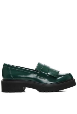 Nine West Nwaccount3 Yeşil Suni Deri Ayakkabı