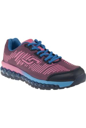 Jump 13714 Bağlı Mavi Kadın Ayakkabı