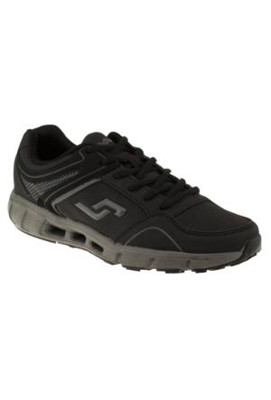 Jump 13734 Bağlı Casual Siyah Unisex Ayakkabı