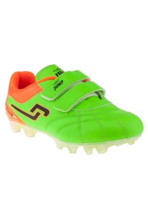 Jump 14226 Çift Cırtlı Yeşil Çocuk Ayakkabı