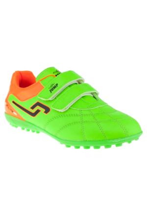 Jump 14227F Çift Cırt Yeşil Çocuk Spor Ayakkabı