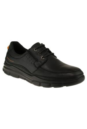 Forelli 35919 Bağlı Comfort Siyah Erkek Ayakkabı