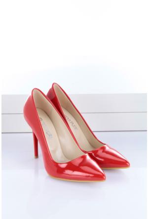 Shoes&Moda Kadın Stıletto Kırmızı