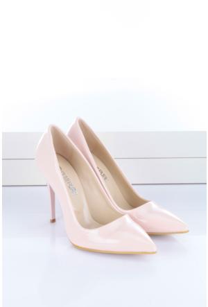 Shoes&Moda Kadın Stıletto Pudra