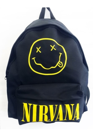 Kripton Nirvana Siyah Sırt Çantası