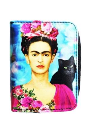 Köstebek Frida Kahlo Cüzdan