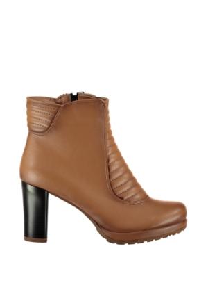Pembe Potin Taba Ayakkabı