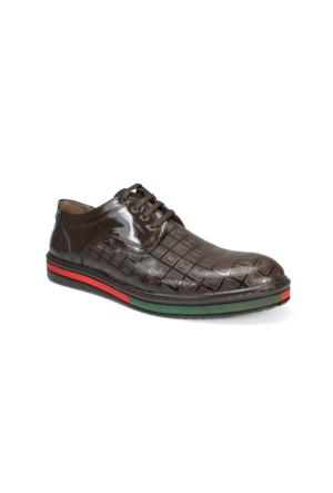Sepetti Hakiki Deri Oxford Erkek Ayakkabı