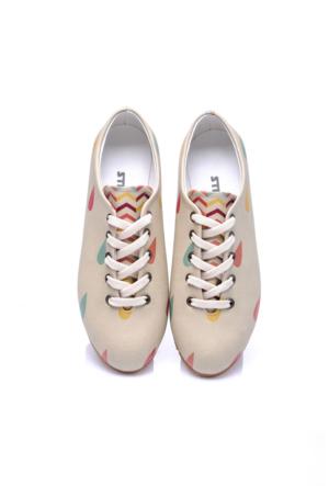 Streetfly Ebony OX2020 Kadın Günlük Ayakkabı