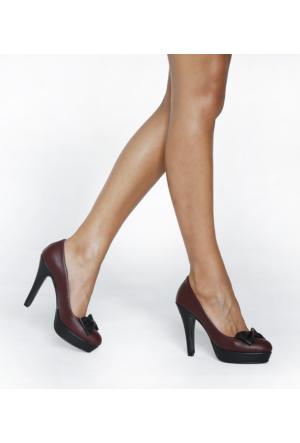 JustBow Misterio JB-204 Kadın Platform Ayakkabı