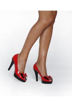 JustBow Britney JB-255 Kadın Platform Ayakkabı