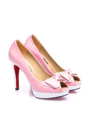 JustBow Larimar JB-252 Kadın Platform Ayakkabı