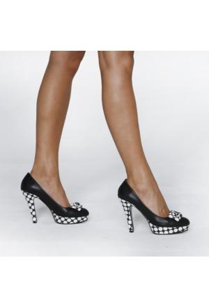 JustBow Jade JB-206 Kadın Platform Ayakkabı