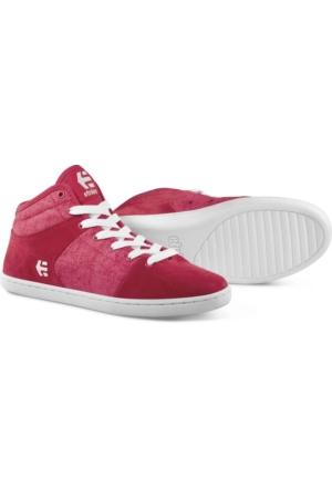 Etnies Senix D Mid Ws Red White Ayakkabı