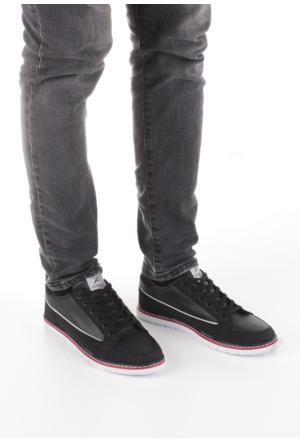 Erbilden Filex Siyah Bağcıklı Erkek Spor Ayakkabı
