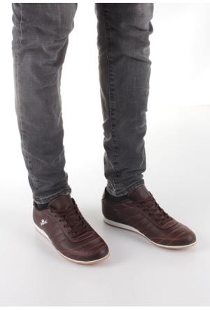 Erbilden Spr Kahverengi Cilt Erkek Spor Ayakkabı