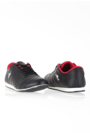 Erbilden Spr Siyah Cilt Erkek Spor Ayakkabı