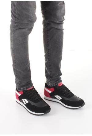 Erbilden Spr Siyah Kırmızı Bağcıklı Erkek Spor Ayakkabı