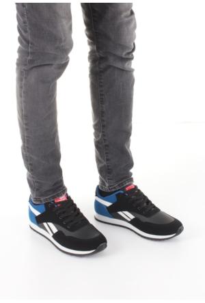 Erbilden Spr Siyah Mavi Bağcıklı Erkek Spor Ayakkabı