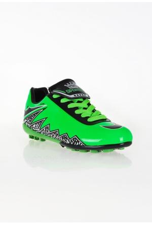 Erbilden Spr Yeşil Siyah Erkek Halı Saha Ayakkabısı