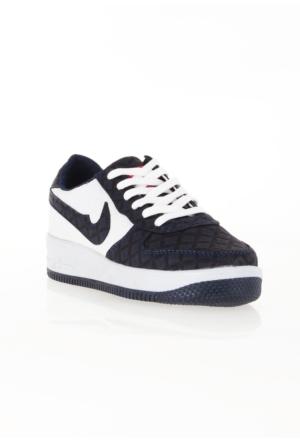 Erbilden Spr Lacivert Beyaz Desenli Bayan Spor Ayakkabı