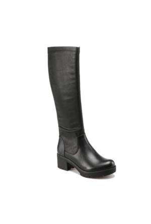 Art Bella C17019 Siyah Kadın Basic Çizme