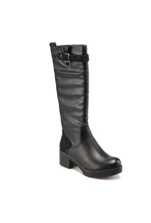Art Bella C17090 Siyah Kadın Çizme