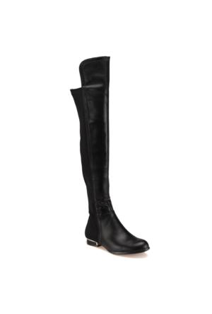 Miss F F17026 Siyah Kadın Çizme