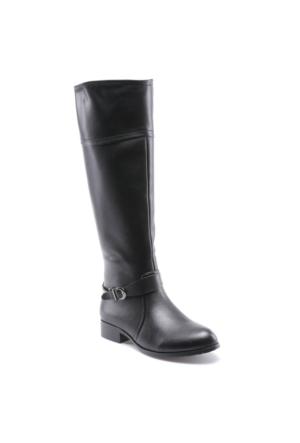Miss F F17100 Siyah Kadın Binici Çizme
