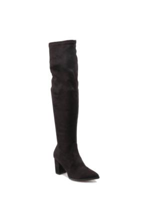 Miss F F17153 Siyah Kadın Çizme