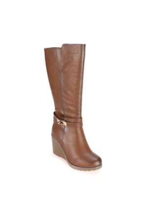 Polaris 52.308090.Z Kahverengi Kadın Çizme