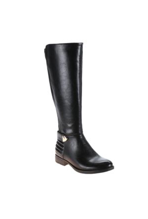 Polaris 52.156262.Z Siyah Kadın Binici Çizme