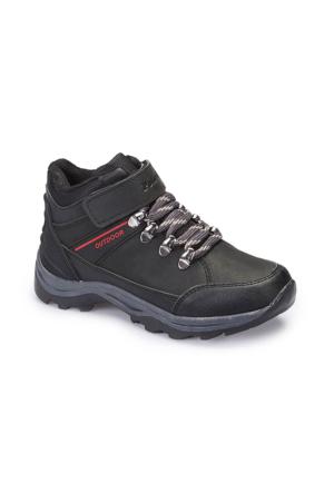 Polaris 62.507853.F Siyah Erkek Çocuk Outdoor Ayakkabı